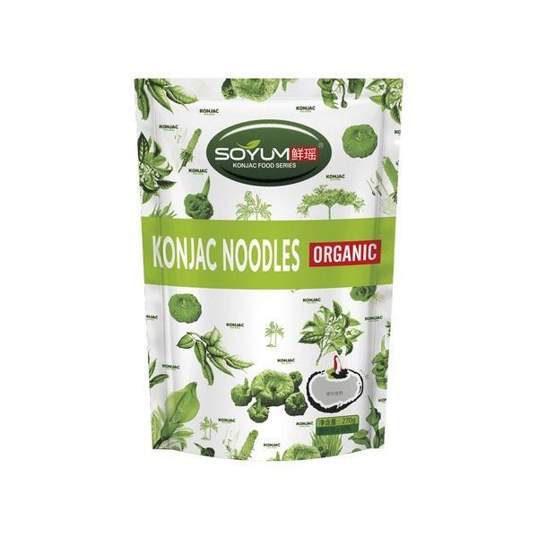 Økologiske nudler, ris og bælgfrugter