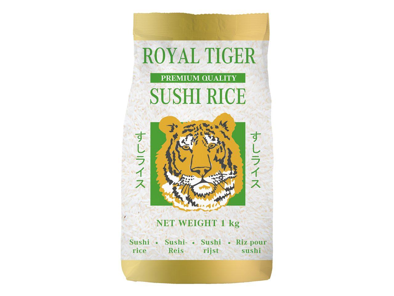 Sushi ris og bælgfrugter